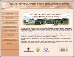 1er Taller Internacional sobre Pensamiento Social