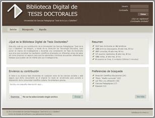 Biblioteca Digital de Tesis Doctorales