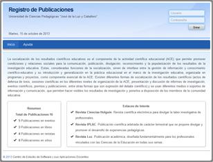 Registro de Publicaciones