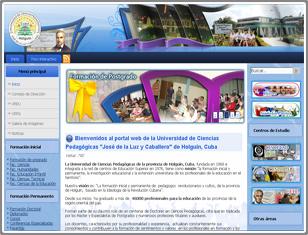 Portal de la UCP de cara a Internet