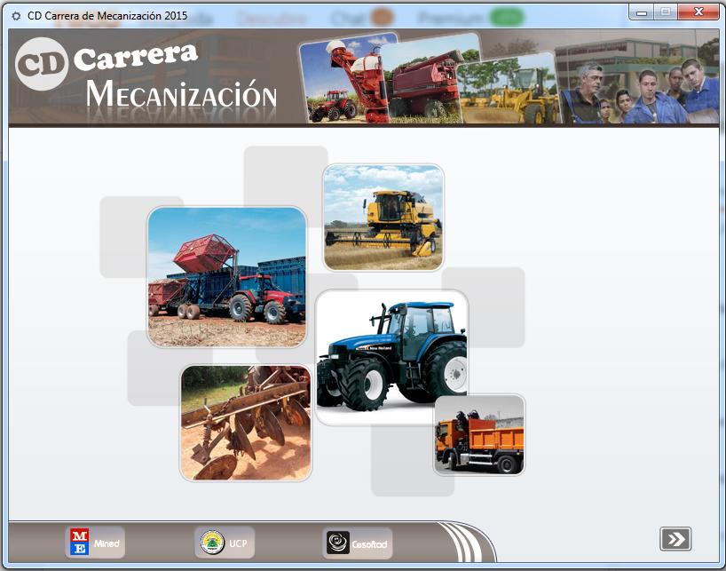 CD de la Carrera Mecanización