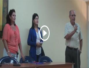 Conferencia sobre el Sistema Electoral Cubano