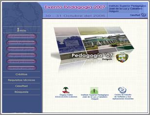 PEDAGOGÍA 2007