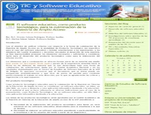 TIC y Software Educativo